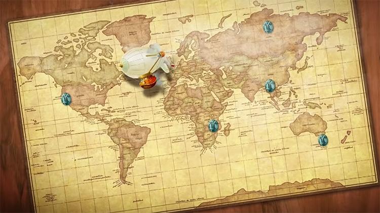 Professor Layton and the Azran Legacy Nintendo 3DS screenshot