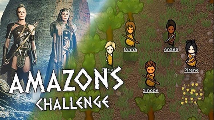 Amazons Challenge Rimworld Mod