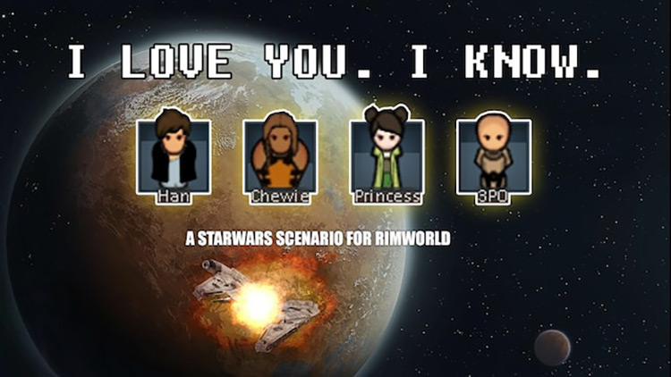 StarWars Scenario Rimworld Mod screenshot