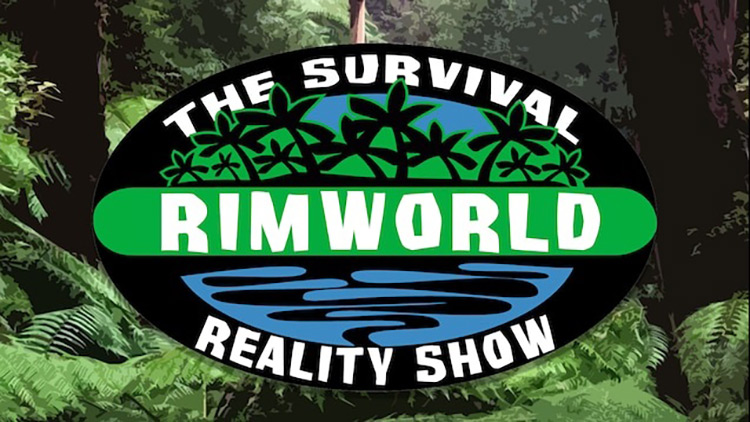 Title sreenshot Rimworld - The Survival Reality Show Mod