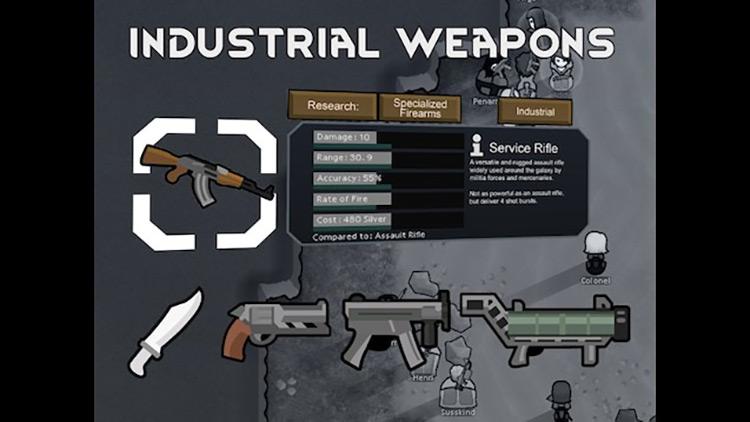 Vanilla Weapons Expanded Rimworld Mod screenshot