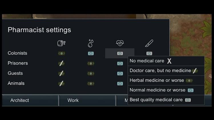Pharmacist Rimworld Mod