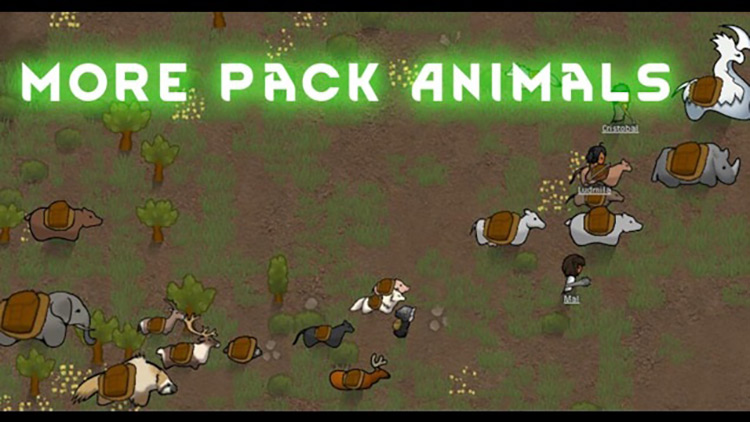 More Pack Animals Rimworld Mod