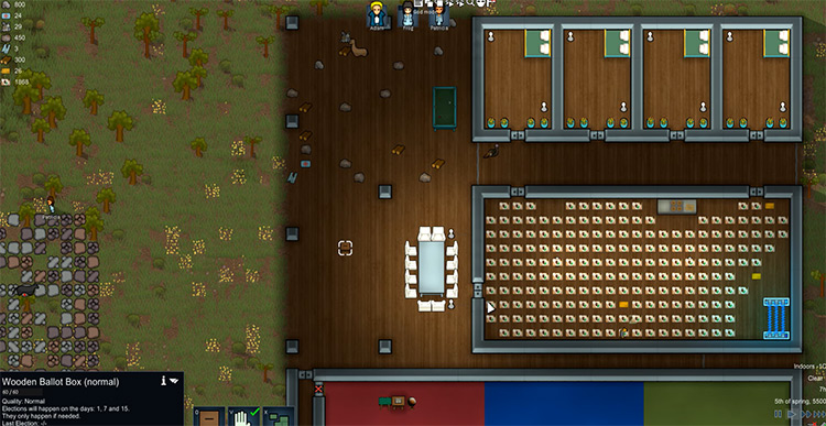 Colony Leadership mod  Rimworld gameplay screenshot