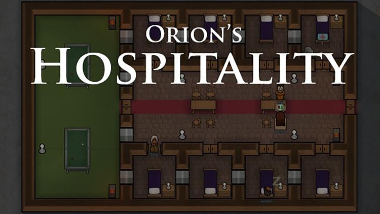 Hospitality Rimworld Mod title  screenshot