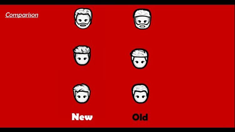 Mens Hair Rimworld Mod screenshot