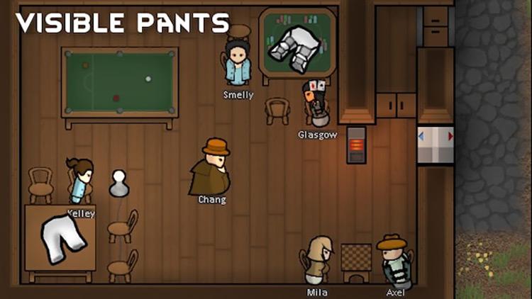 Visible Pants Rimworld Mod