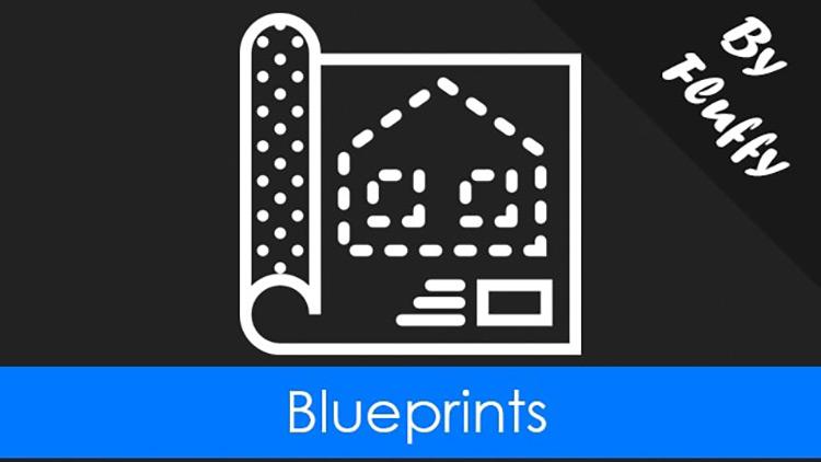Blueprints Rimworld Mod
