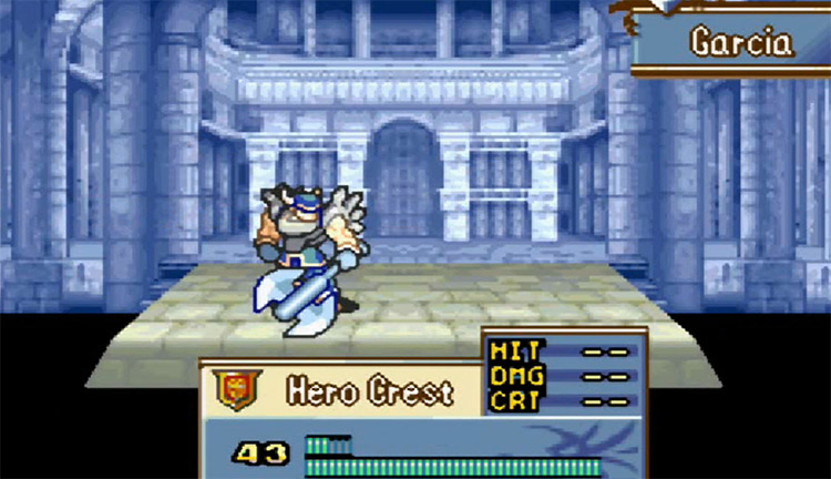 Fire Emblem: The Sacred Stones - GBA Screenshot
