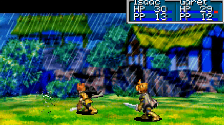 Golden Sun (2001) GBA Screenshot