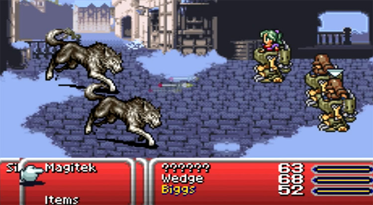 Final Fantasy VI Advance 2007 Gameplay GBA Screenshot