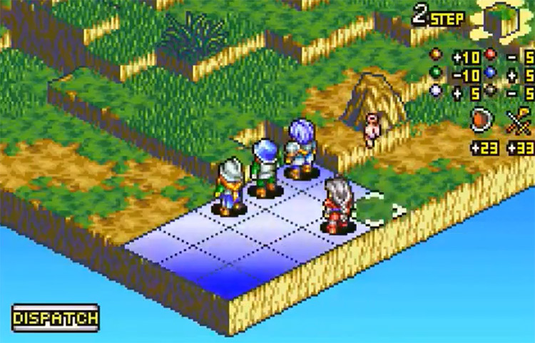 Tactics Ogre: The Knight of Lodis GBA Screenshot