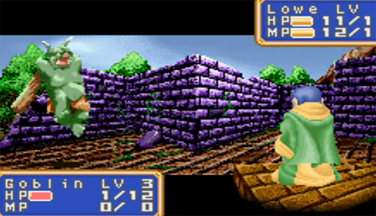 Screenshot of Shining Force: Resurrection of the Dark Dragon 2004