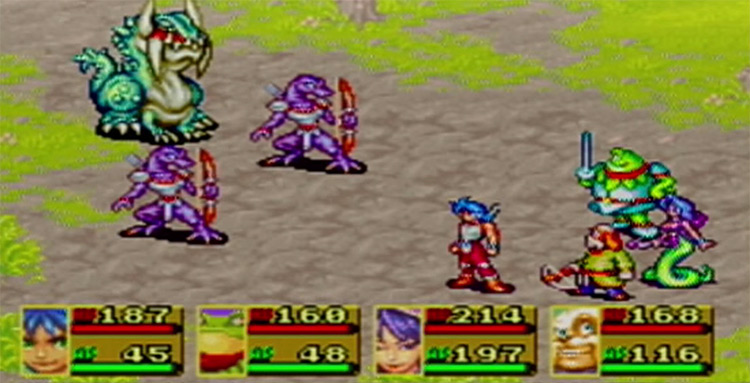 Screenshot of Breath of Fire 2 2002 GBA