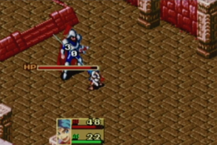 Breath of Fire 2001 GBA RPG Gameplay Screenshot