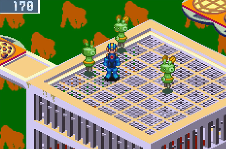 Mega Man Battle Network 3 2003 GBA screenshot