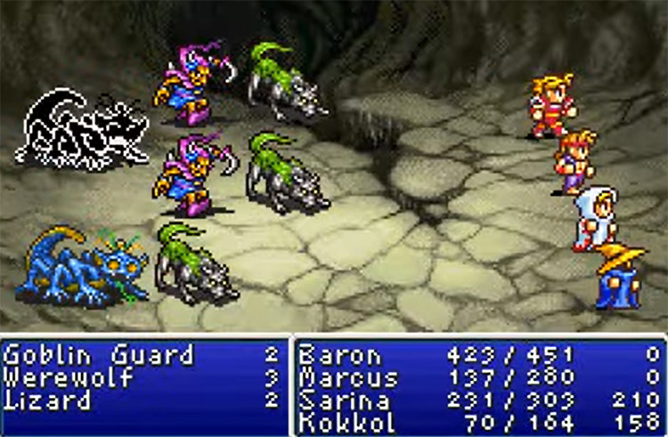 Final Fantasy I & II: Dawn of Souls Gameplay Screenshot