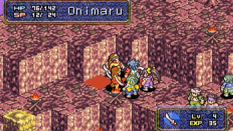 Onimusha Tactics 2003 GBA RPG