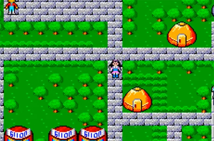Phantasy Star Collection 2002 GBA RPG Screenshot