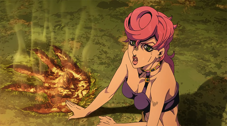 Trish Una from JoJo's Bizarre Adventure: Golden Wind anime