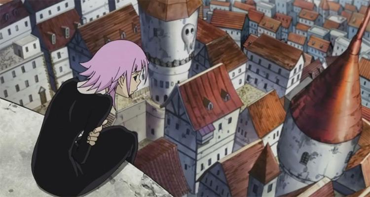 Screenshot of Crona in Soul Eater anime