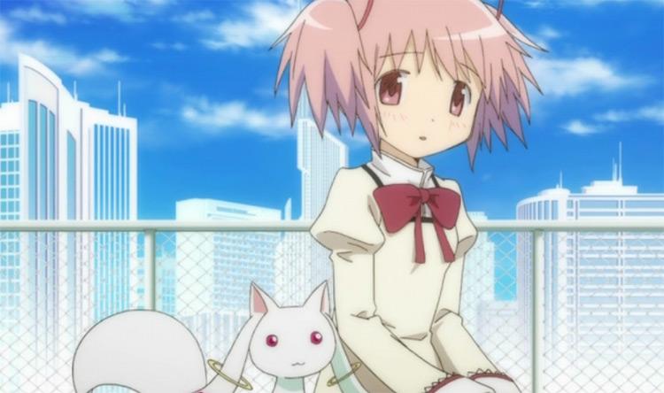 Madoka Kaname from Puella Magi Madoka Magica anime
