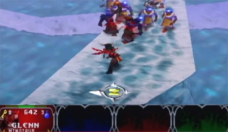 Gauntlet Legends gameplay