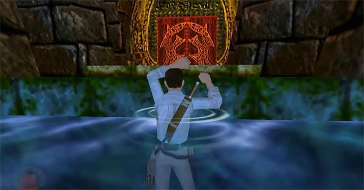 Indiana Jones and the Infernal Machine gameplay