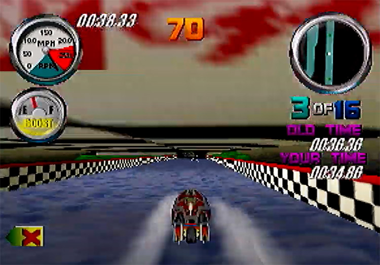 Hydro Thunder game screenshot