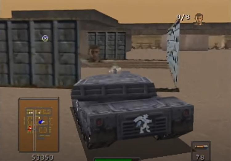 BattleTanx: Global Assault gameplay