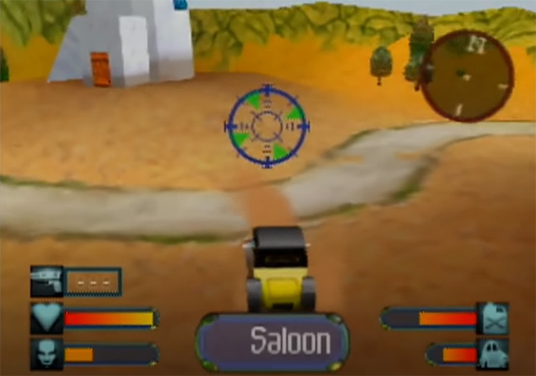 Body Harvest game screenshot