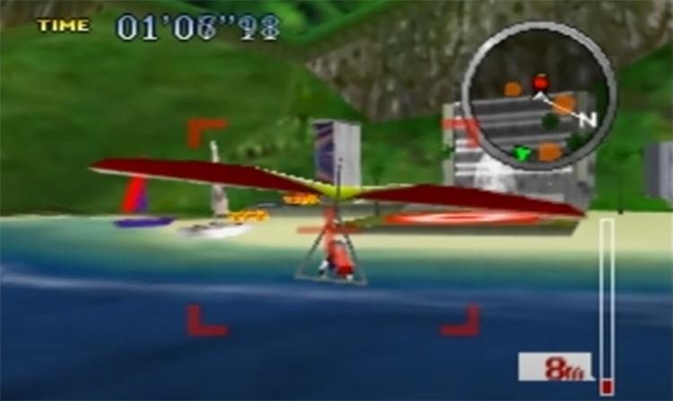 Pilotwings 64 - N64 game screenshot