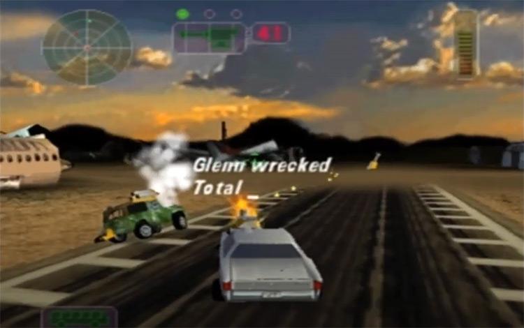 Vigilante 8 - N64 gameplay