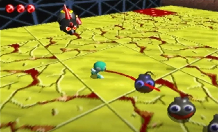 Chameleon Twist game screenshot
