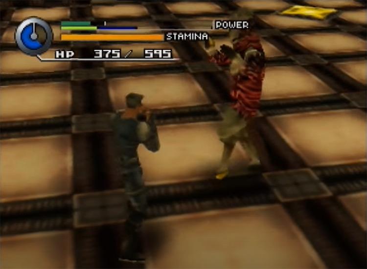 Hybrid Heaven game screenshot