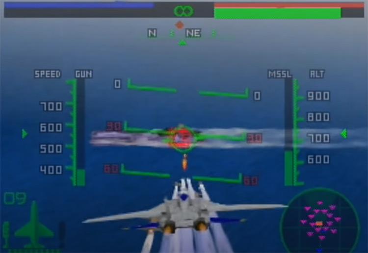 Aero Fighters Assault gameplay