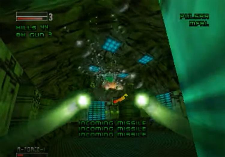 Forsaken 64 N64 screenshot