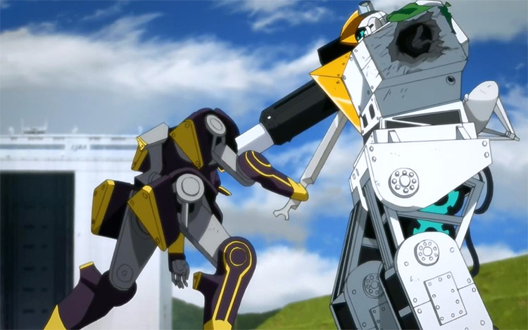 Robotics;Notes anime screenshot