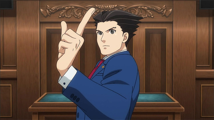 Ace Attorney anime screenshot