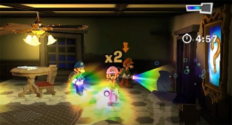 Luigi's Mansion: Dark Moon gameplay