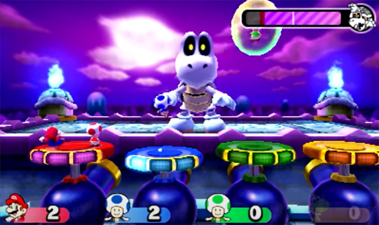 Mario Party Star Rush gameplay