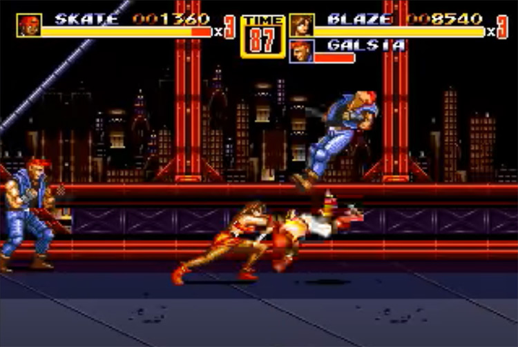 3D Streets of Rage 2 screenshot