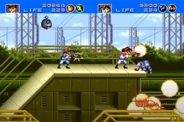 3D Gunstar Heroes gameplay