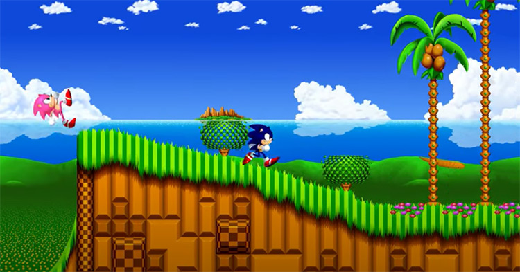 3D Sonic the Hedgehog 2 screenshot