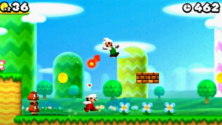 New Super Mario Bros. 2 game screenshot