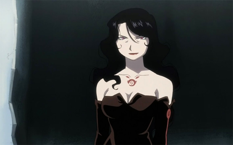 Lust from Fullmetal Alchemist