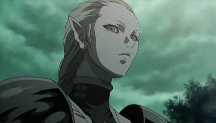 Ophelia from Claymore anime