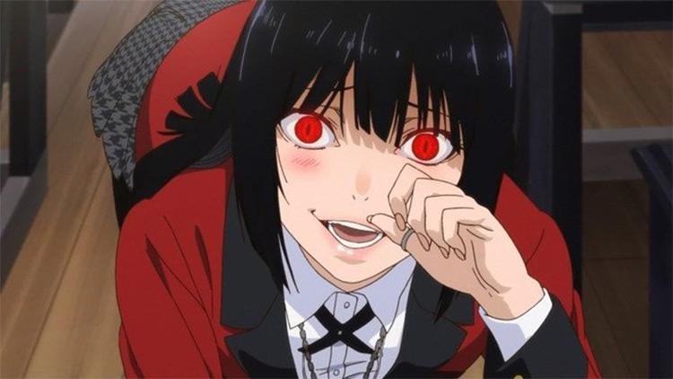 Yumeko Jabami from Kakegurui anime