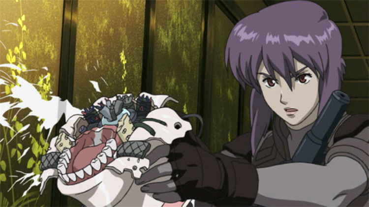 Koukaku Kidoutai anime screenshot