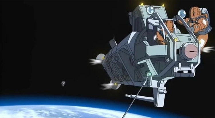 Planetes anime screenshots